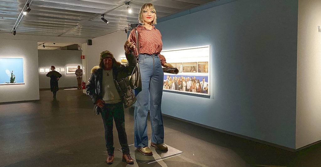 Peter på fotografiska museet i Stockholm