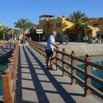 Shopping i El Gouna – vid Röda havet i Egypten