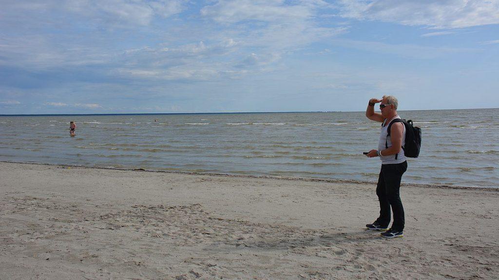 stränder i Pärnu i Estland