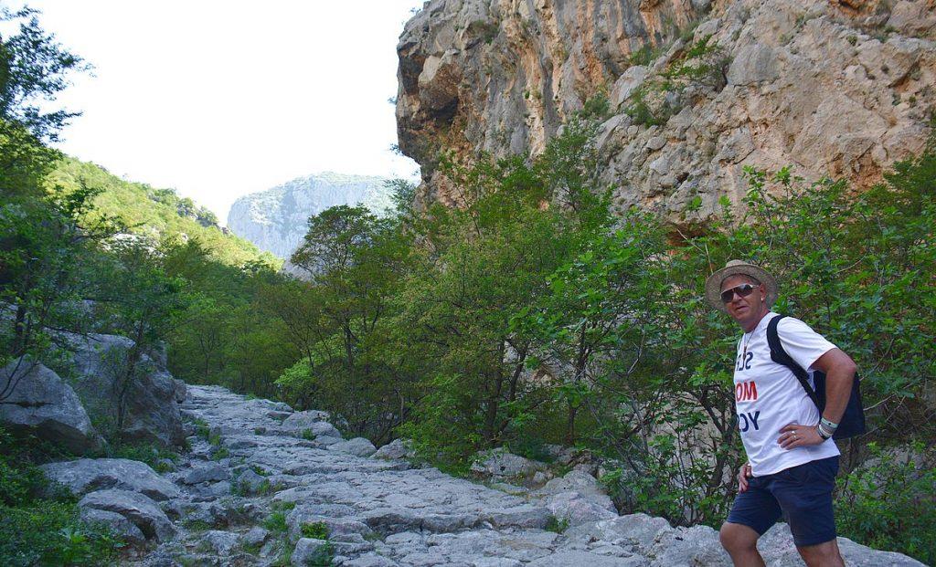 Peter i Paklenica nationalpark i Kroatien