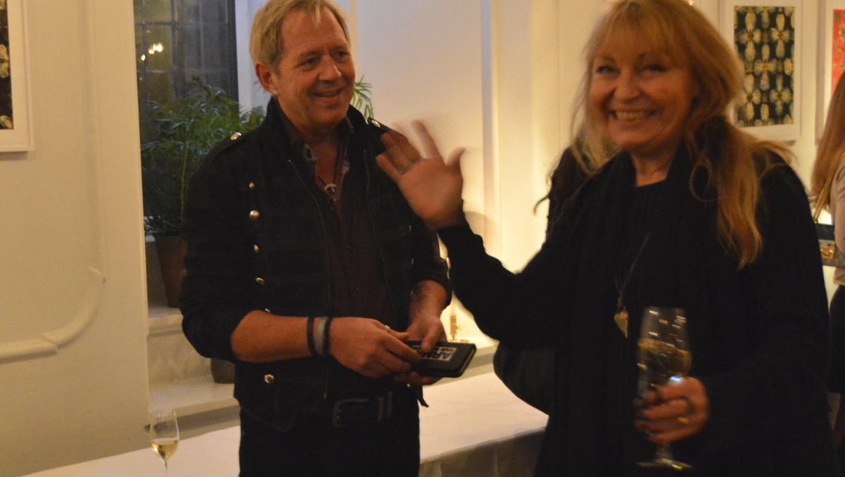 Peter och Maria von Gegerfeldt, ordförande i Sveriges Turistjournalister