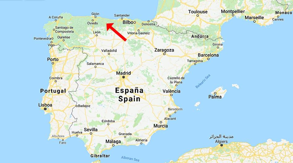 Spanien, Picos de Europa