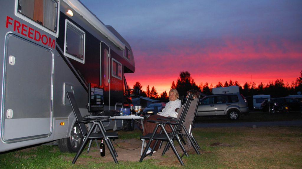Campingar och ställplatser i Sverige