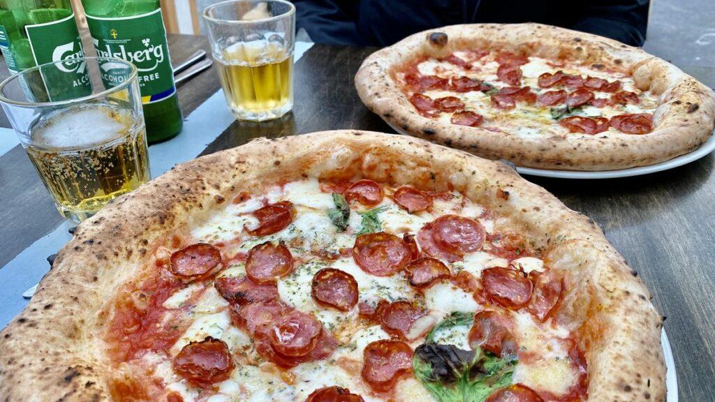 Göra i Halland - ät pizza på lilla Napoli