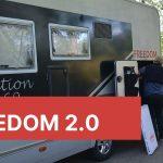 Ny koppling till husbilen – och nya bord och stolar