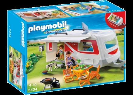Playmobil husvagn