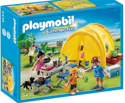 Playmobil tält