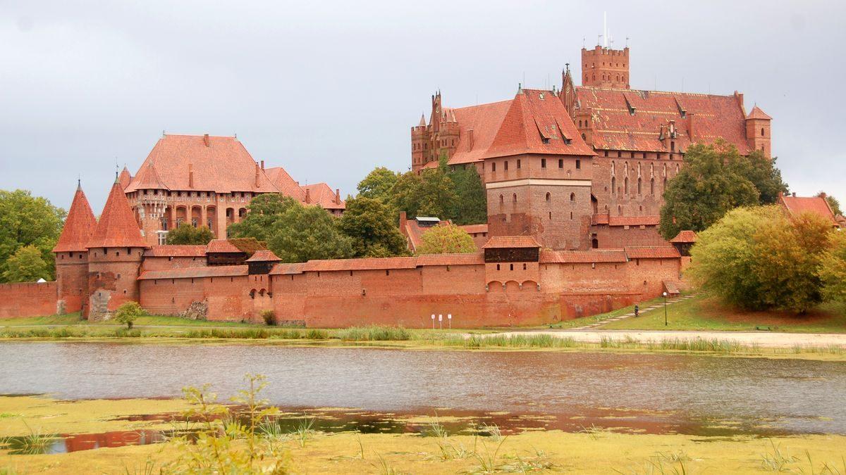 Unesco världsarv i Polen . Malbork