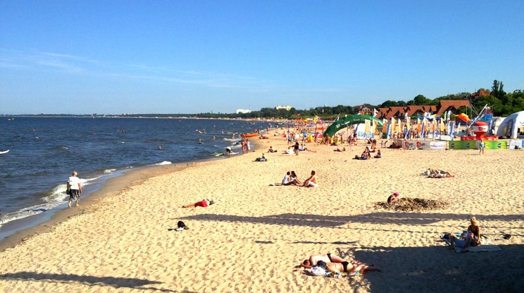 Polen strand