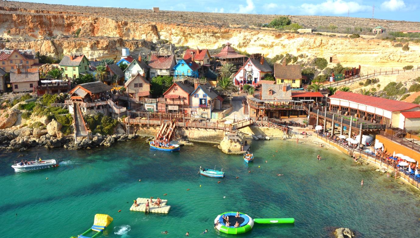 Popeye village (Karl-Alfreds by) på Malta