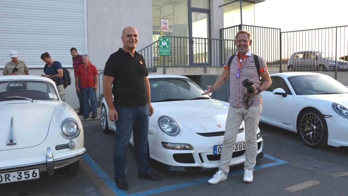 Porscheklubben på Malta