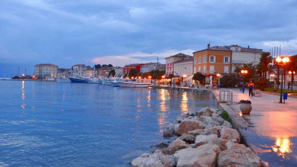 porec i Istrien i Kroatien