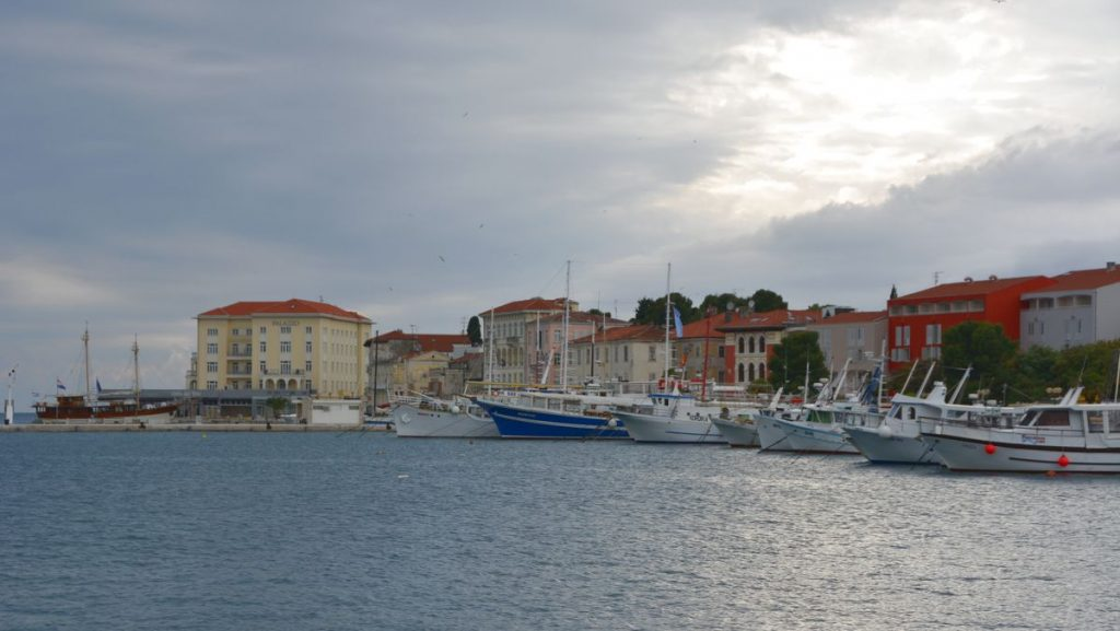 Porec i Kroatien