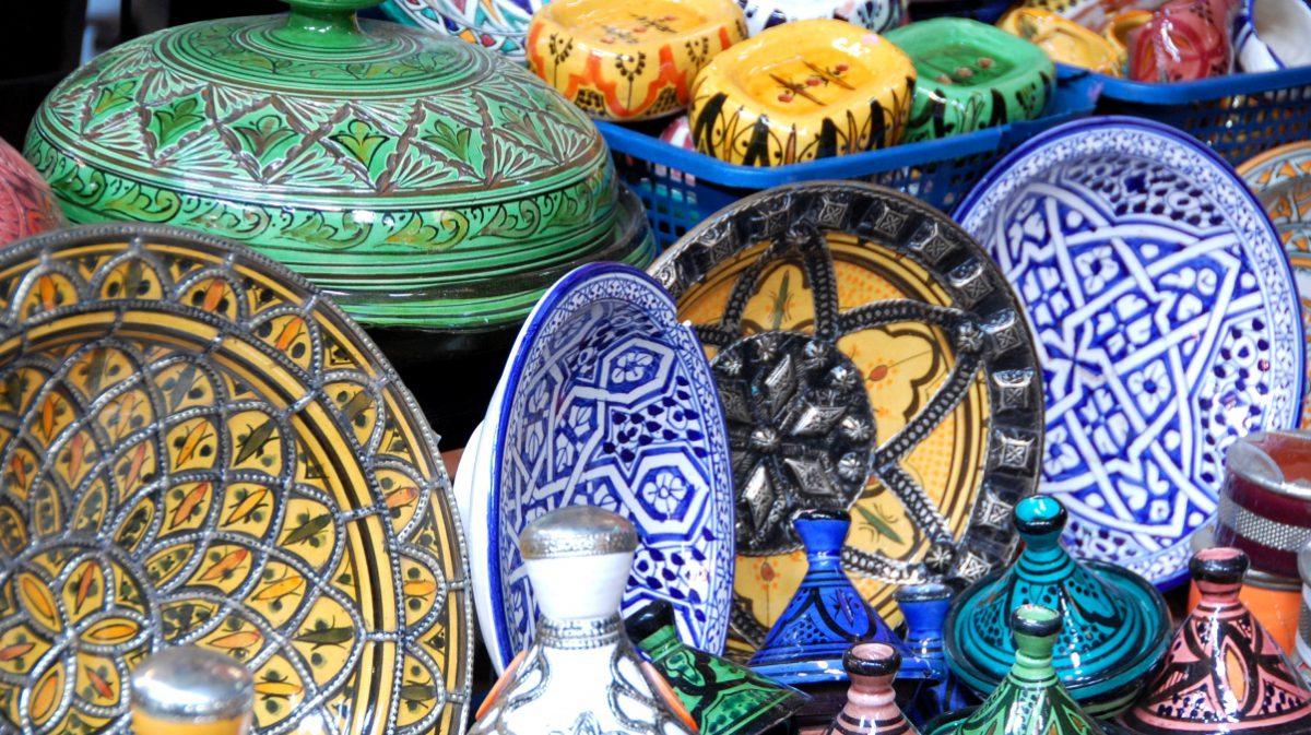 Porslin Marocko