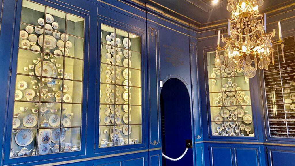 Riddarhuset i Stockholm - Blå rummet