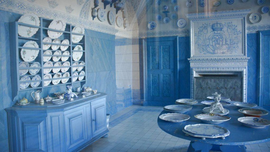 porslinsrummet på Drottningholms slott