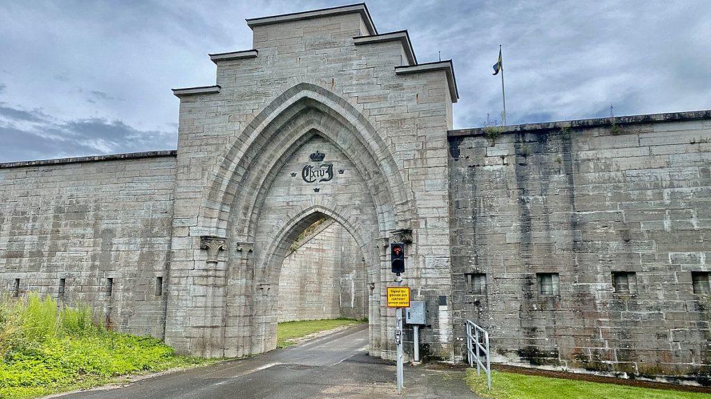 Port till Karlsborgs fästning