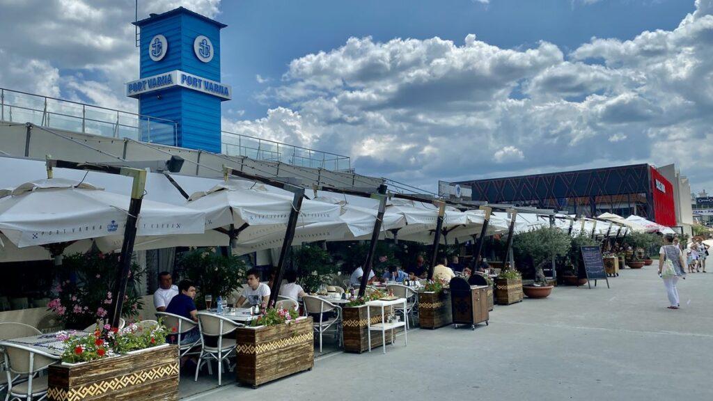 Göra i Varna i Bulgarien - Port Varna