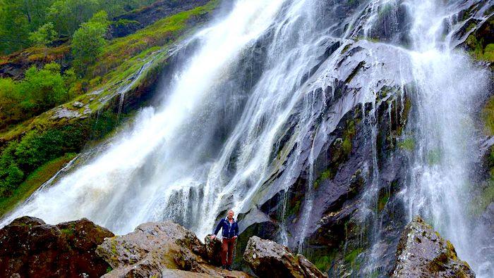 Irlands högsta vattenfall
