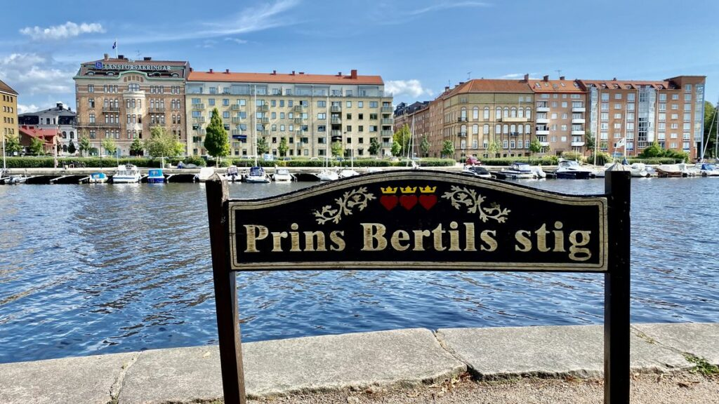 Göra i Halmstad - prins Bertils stig