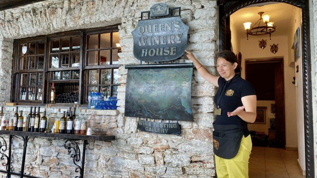 Baltjik i Bulgarien - Queen's winery