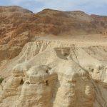 Qumran på Västbanken – här hittades Dödahavsrullarna