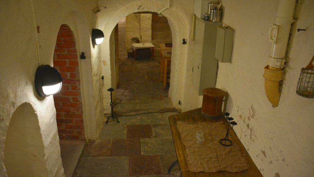 Rörstrands slott fängelsehålor