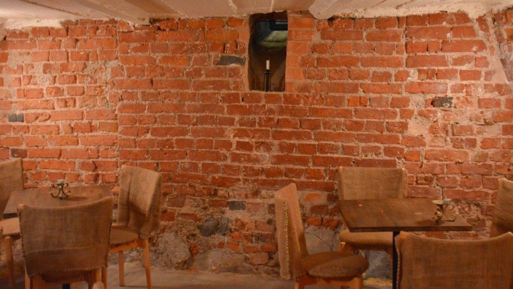 Rörstrands slotts källare