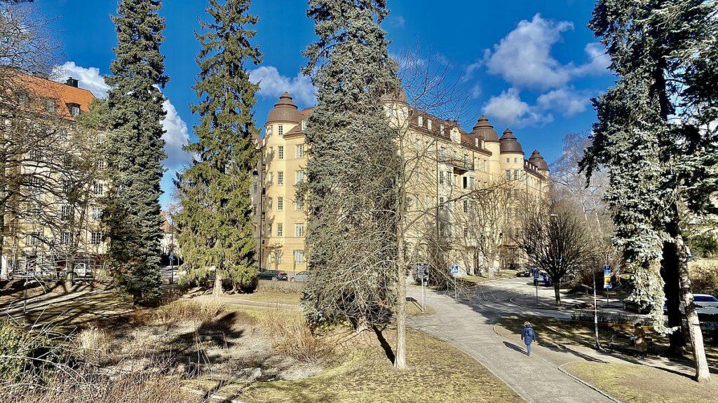 Råsunda i Solna