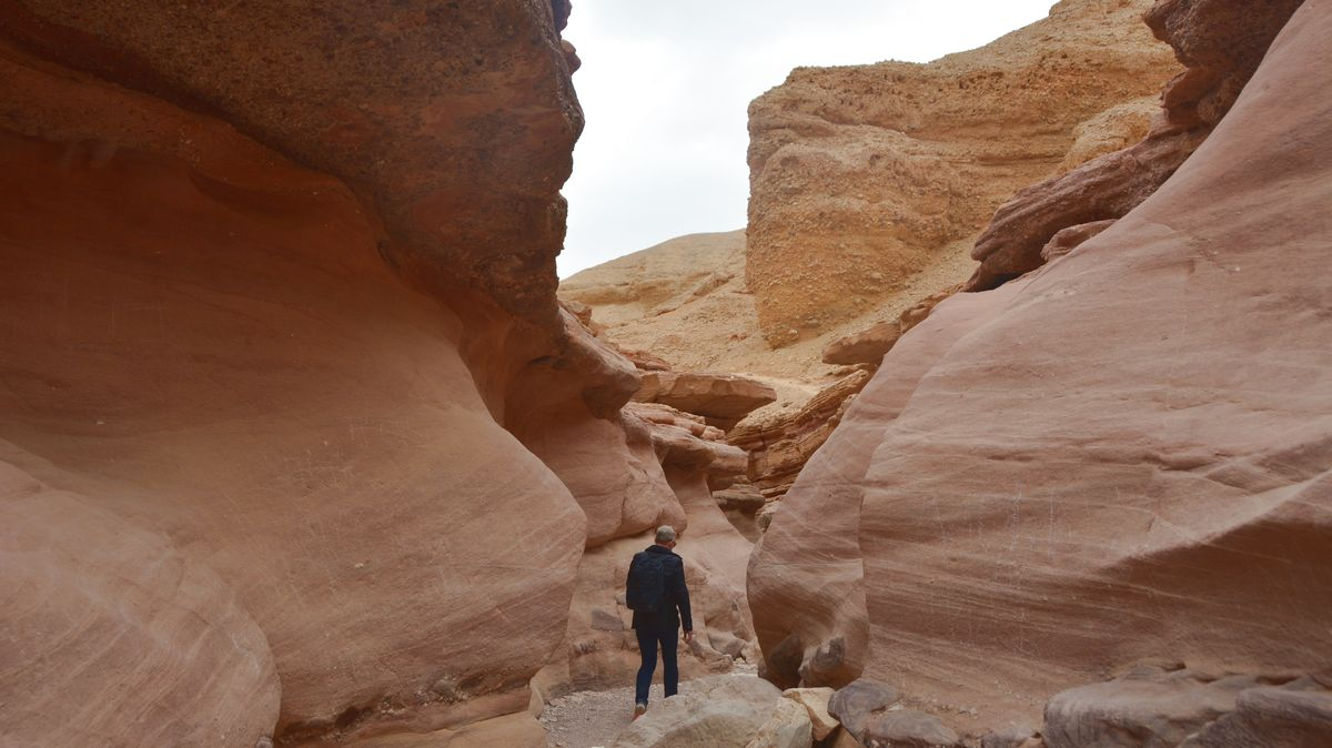 Red canyon Israel