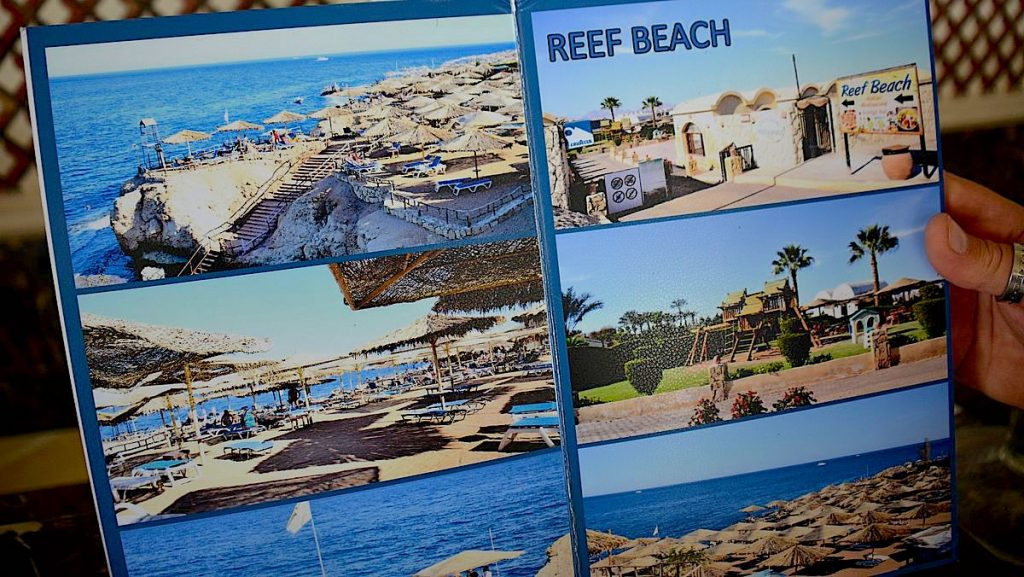 Stränder i Sharm el Sheikh - Reef beach