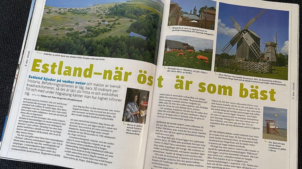 Reportage om Estland