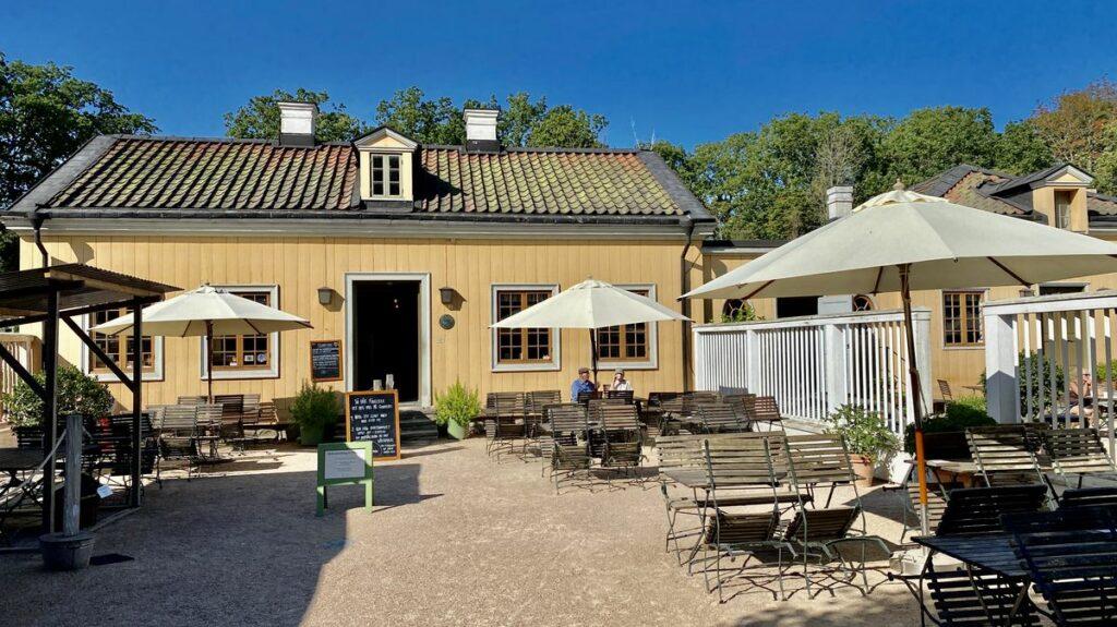 Gunnebo slott och trädgårdar - Kaffehus och krog