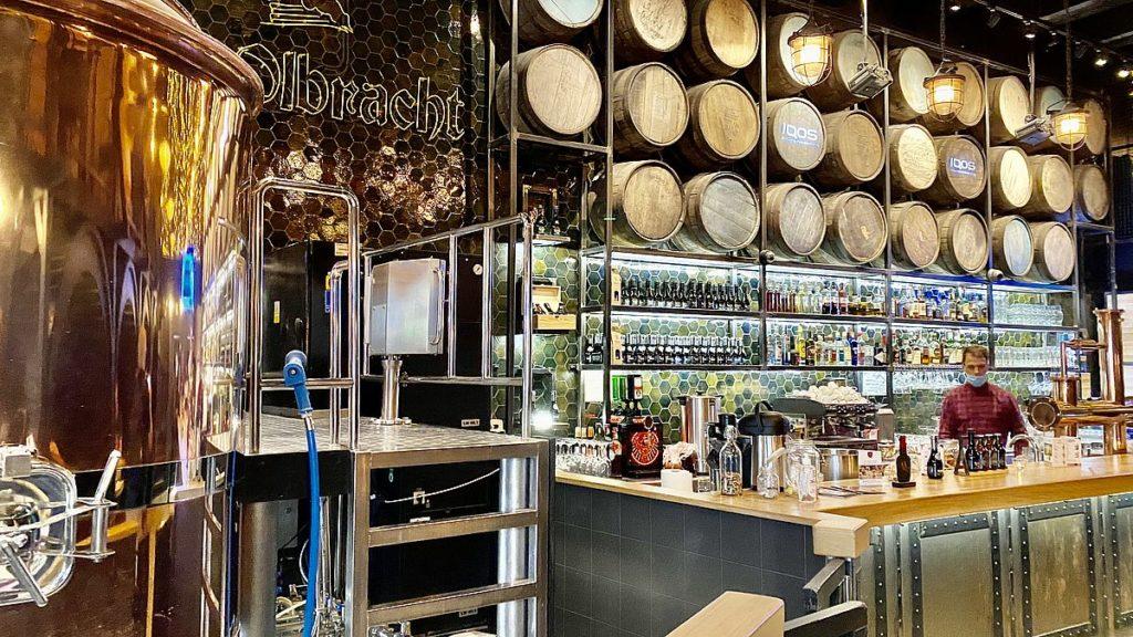 Bryggeri och restaurang i Torun
