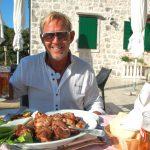 Restaurang på Brac – gott lamm på Kopacina