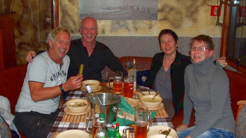 Middag på restaurang i Polen