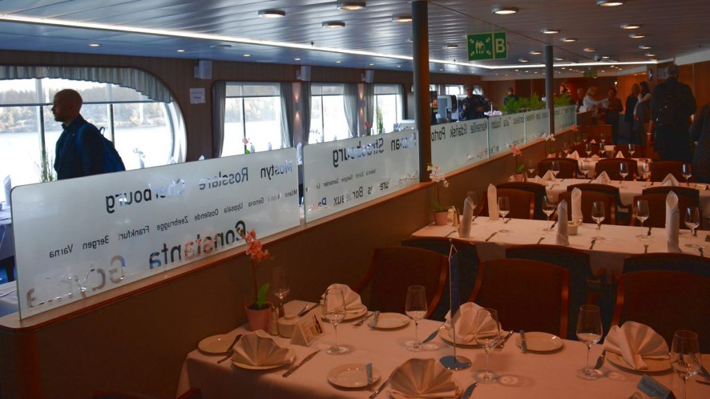 Restaurang Polferries M/F Nova Star