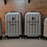 Nya resväskor med personligt tryck