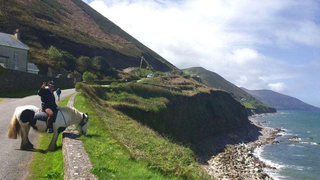 Rida på Irland