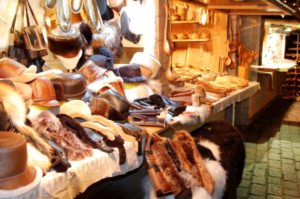 Hantverk på en av Rigas julmarknader