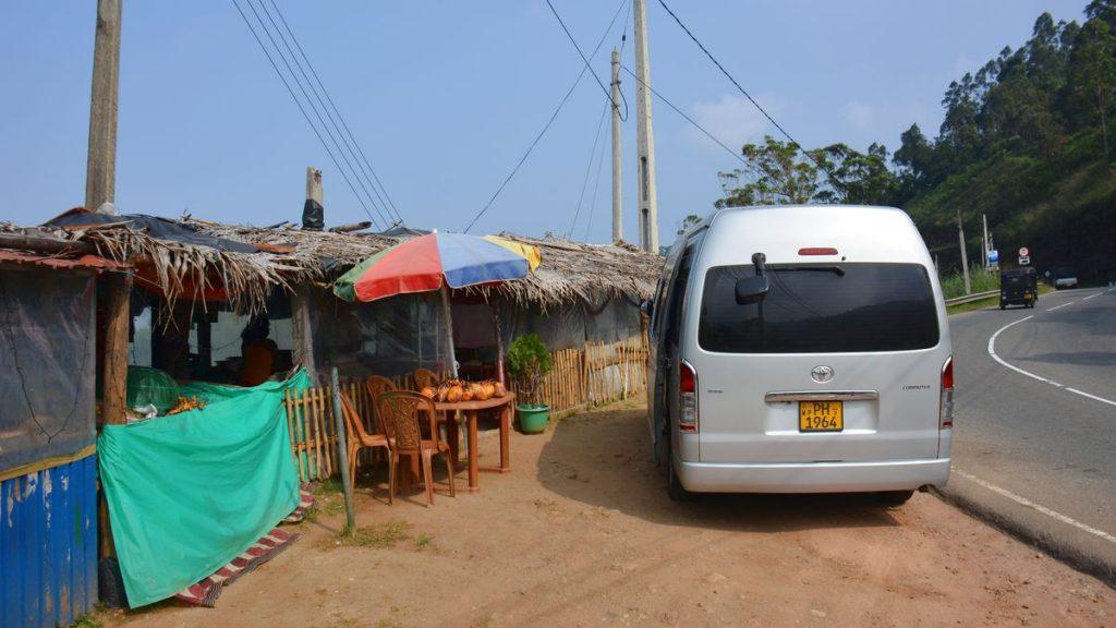 På väg i Sri Lanka