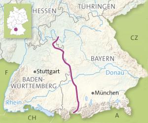 Vackra vägar i Tyskland: Romantiska vägen