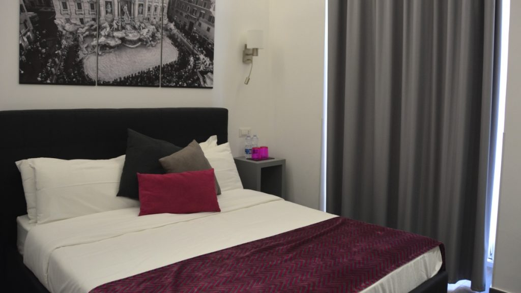 Room91 - mysigt hotell i Rom