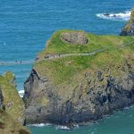 Dramatisk repbro i Nordirland – Carrick-a-Rede