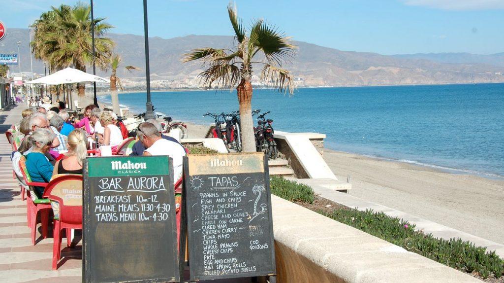 Roquetas de mar Spanien