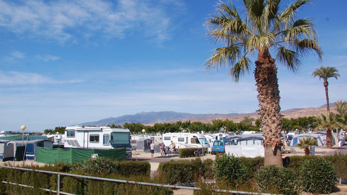Roquetas de mar camping