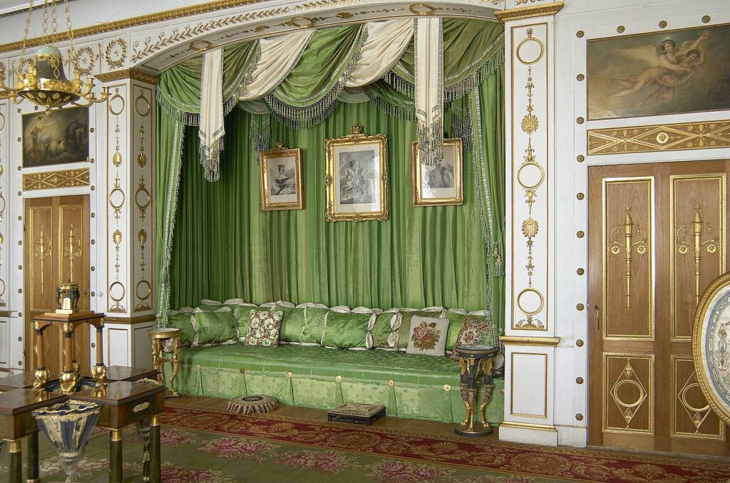 Rosersbergs slott - gröna förmaket