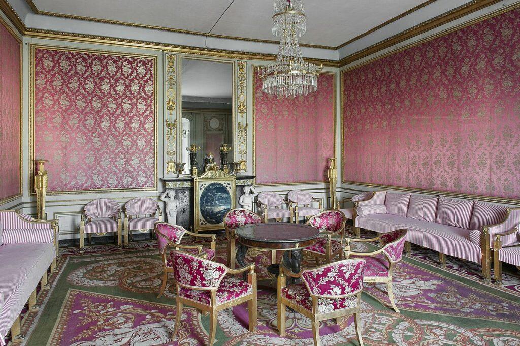 Rosersbergs slott - röda salongen