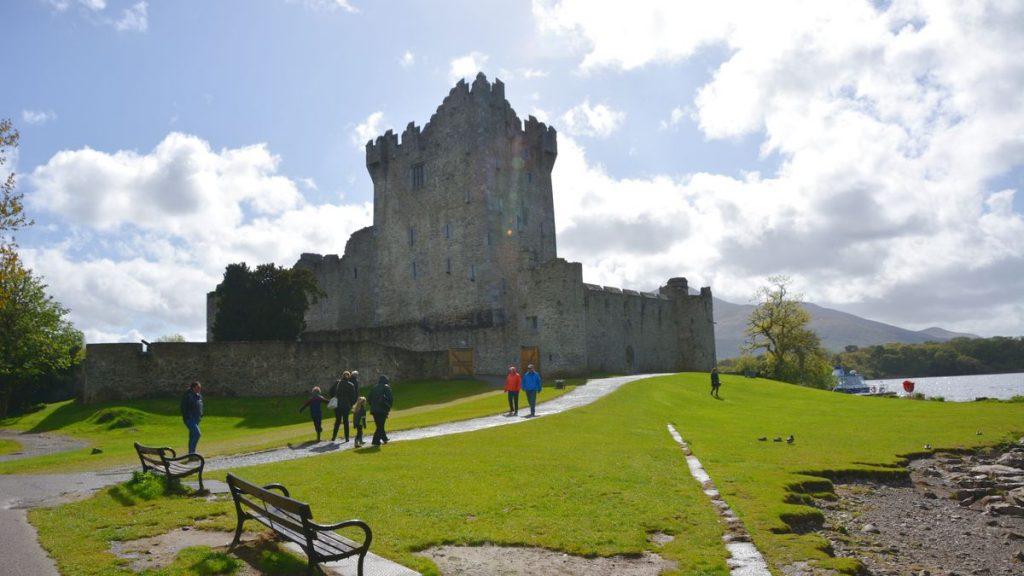 Ross castle Irland
