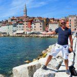 Med husbil i charmiga Rovinj på Istrien
